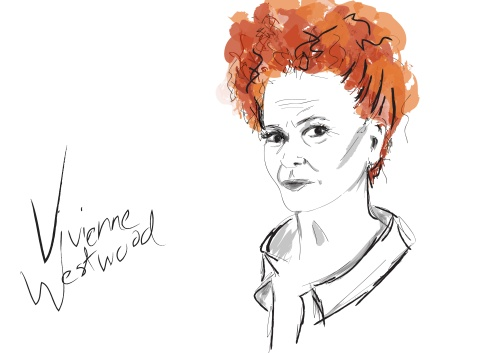 illustration of Vivienne Westwood