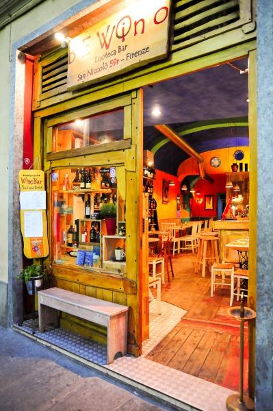 mysig färgglad bar