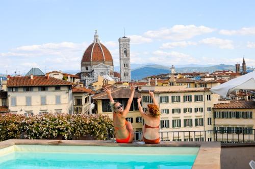 myys med pool på taket vid Santa maria novella